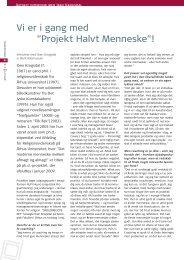 """Vi er i gang med """"Projekt Halvt Menneske""""! - Emu"""