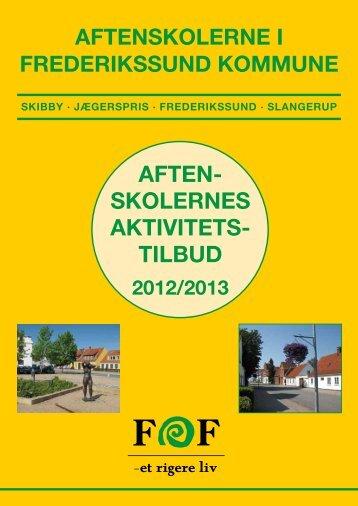 AFTEN- SKOLERNES AKTIVITETS- TILBUD - FOF