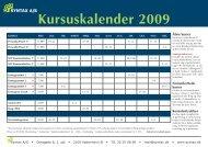 Kursuskalender 2009 - Syntax