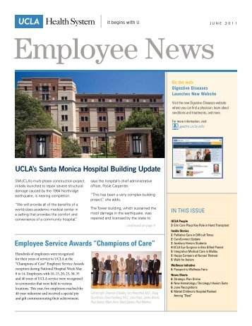 "Employee Service Awards ""Champions of Care"" - Electronic Town ..."