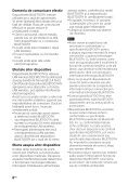 Sony HT-CT260H - HT-CT260H Mode d'emploi Roumain - Page 6
