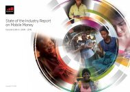 State of the Industry Report on Mobile Money
