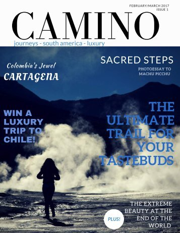 Camino magazine Feb 2017