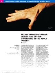 transcutaneous carbon dioxide and oxygen monitoring in the adult ...