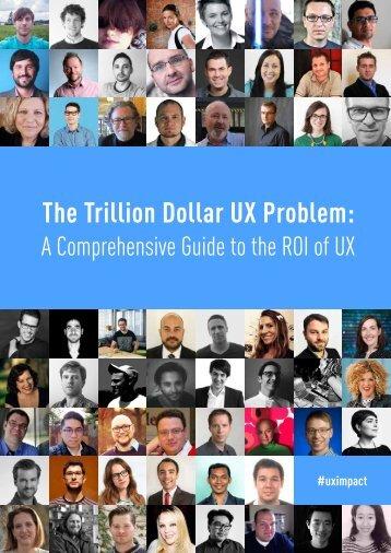 The Trillion Dollar UX Problem
