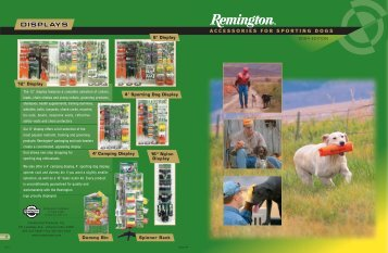 ACCESSORIES FOR SPORTING DOGS - Remington