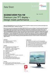 SCENICVIEW P24-1W Premium Line TFT display – Design meets ...