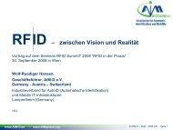 RFID – zwischen Vision und Realität - Siemens Österreich