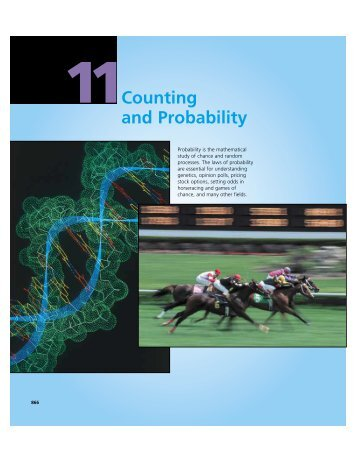 Counting and Probability - Cengage Learning