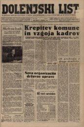 7. januar 1960 (št. 511) - Dolenjski list