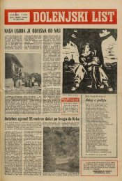 21. julij 1966 (št. 851) - Dolenjski list