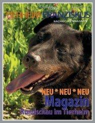 Tierheim Franziskus Magazin 1 Ausgabe