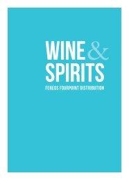 Fereos Fourpoint Distribution - Wines & Spirits Catalogue 2017