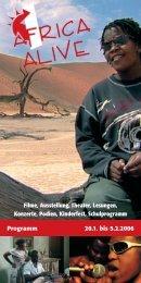 Instrumente der Welt - Africa Alive