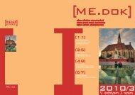 Zenélő Kolozsvár - ME.dok 2012/2