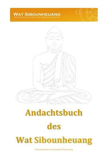 Andachtsbuch des Wat Sibounheuang