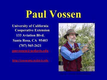 Single Varietal Oils - University of California Cooperative Extension