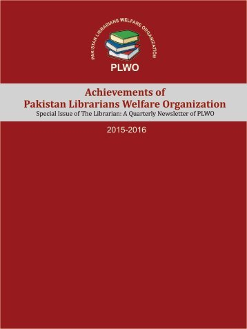 Special issue 2017 (Achievements of PLWO 2015-2016)