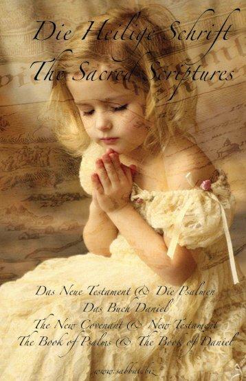 DEUTSCH - 15. Ausgabe in PDF - einfach - Der heilige Sabbat, der ...