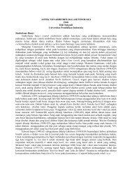 aspek nonarbitrer dalam bahasa dan sastra - Direktori File UPI ...