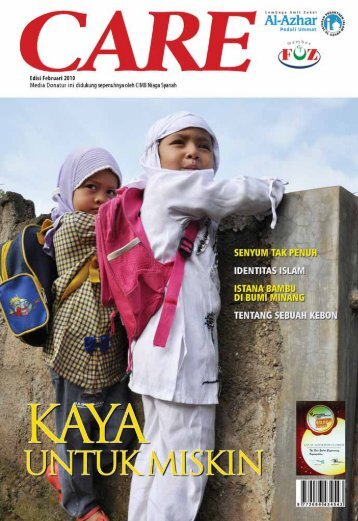 Majalah CARE, Edisi Februari 2010 - Al-Azhar Peduli