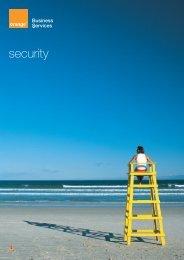 Security brochure (PDF, 1 Mo) - Orange-business.com