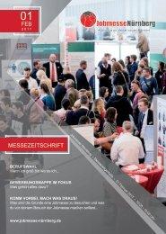 Jobmesse Nürnberg - Messezeitschrift Frühjahr 2017