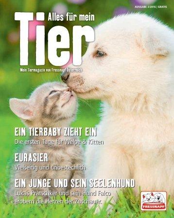 Fressnapf Magazin Alles für mein Tier Mai-Juni