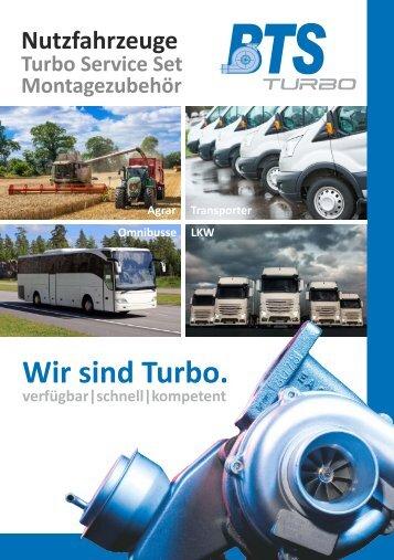 BTS Nutzfahrzeuge Turbo Service Set