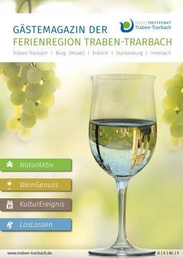 Gästemagazin der Ferienregion Traben-Trarbach