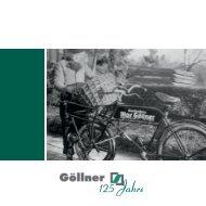 Göllner - 125 Jahre Festschrift