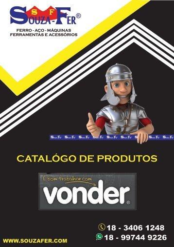 CATÁLOGO DE PRODUTOS SOUZA-FER - LINHA VONDER