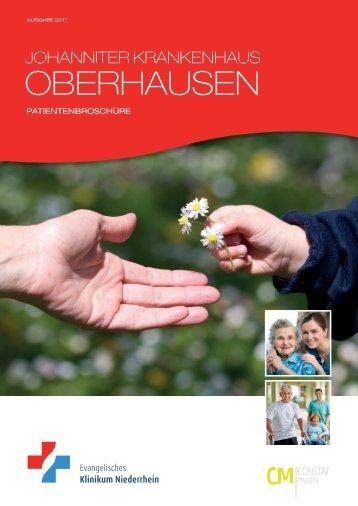 Patientenbroschüre Johanniterkrankenhaus Oberhausen 2017