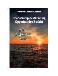 2017 Sponsorship Directory