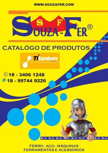 CATÁLOGO DE PRODUTOS SOUZA-FER - LINHA TITANIUM