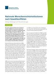 Information_Nationale_Menschenrechtsinstitutionen_nach_Gewaltkonflikten_Auftrag_Erfahrungen_und_Herausforderungen