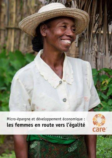 les femmes en route vers l'égalité