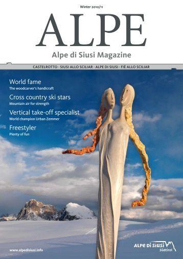Alpe di Siusi Magazine - Winter 2012/2013 - Seiser Alm