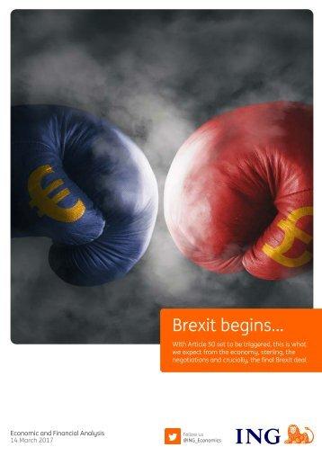 Brexit begins…