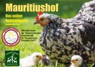 Mauritiushof Natur Magazin März 2017