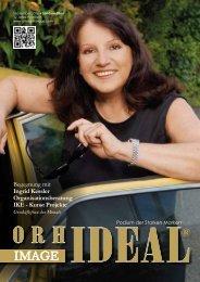 Ingrid Kessler im Orhideal IMAGE-Magazin