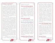 COC Brochure 2 - Chebucto Community Net