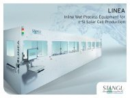 Inline Wet Process Equipment for c-Si Solar Cell Production - stangl.de