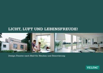Licht, Luft und Lebensfreude! - Fenster Knaut