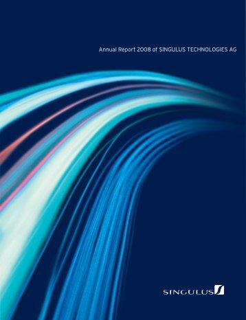 11 - Singulus Technologies AG