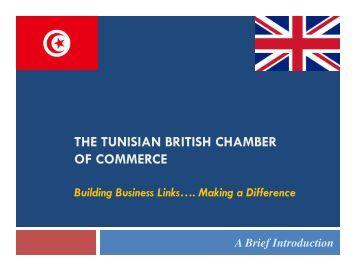 View the TBCC PDF Presentation - Tunisia home page