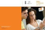 USI& CARRIERE 2010 - USI - Career Service - Università della ...