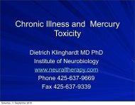 mercury presentation.pdf - Klinghardt Academy