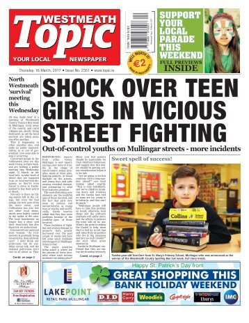 Westmeath Topic - 16 March 2017