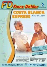 SPANIEN • Costa Blanca - Franz Dähler Reisen